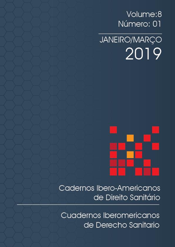 Capa Cadernos Ibero-Americanos de Direito Sanitário